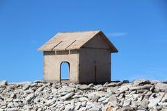 Ξύλινο σπίτι Στοκ Φωτογραφία