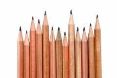 ξύλινο τρέκλισμα μολυβιών Στοκ εικόνες με δικαίωμα ελεύθερης χρήσης