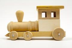 Ξύλινο τραίνο παιχνιδιών Στοκ φωτογραφία με δικαίωμα ελεύθερης χρήσης