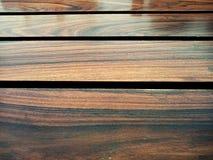 Ξύλινο υπόβαθρο σιταριού σανίδων σύστασης, ξύλινο πίνακας γραφείων ή πάτωμα στοκ εικόνα