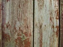Ξύλινο υπόβαθρο σύστασης της παλαιάς ξύλινης χρωματισμένης επιφάνειας σύστασης με το χρώμα αποφλοίωσης Στοκ φωτογραφία με δικαίωμα ελεύθερης χρήσης