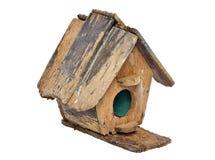 Ξύλινο birdhouse Στοκ Φωτογραφία