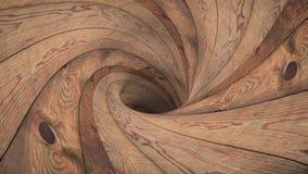 Ξύλινο wormhole χοανών σηράγγων νέο ποιοτικό εκλεκτής ποιότητας ύφος δροσερό συμπαθητικό όμορφο 4k υποβάθρου ζωτικότητας βρόχων π διανυσματική απεικόνιση