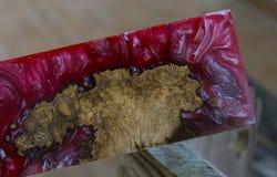 ξύλο εποξικής ρητίνης στοκ εικόνα