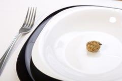 ξύλο καρυδιάς πιάτων Στοκ φωτογραφίες με δικαίωμα ελεύθερης χρήσης