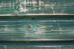 Ξύλο που χρωματίζεται στο πράσινο σμαραγδένιο χρώμα Στοκ φωτογραφία με δικαίωμα ελεύθερης χρήσης