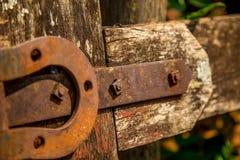 Ξύλο πυλών εδάφους Portress στοκ φωτογραφία με δικαίωμα ελεύθερης χρήσης