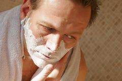 ξύρισμα ατόμων Στοκ Εικόνα