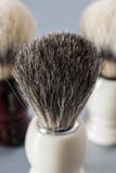 Ξύρισμα της βούρτσας στο γκρίζο υπόβαθρο Στοκ φωτογραφίες με δικαίωμα ελεύθερης χρήσης