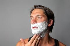 ξύρισμα Στοκ εικόνες με δικαίωμα ελεύθερης χρήσης