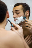 ξύρισμα Στοκ Εικόνες