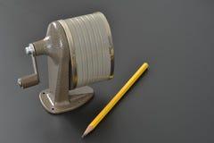 Ξύστρα για μολύβια στοκ φωτογραφία