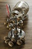 ξύλα καρυδιάς καρυοθραύστης Στοκ εικόνα με δικαίωμα ελεύθερης χρήσης
