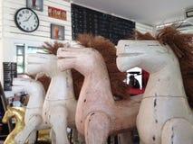 Ξύλινα άλογα Στοκ φωτογραφία με δικαίωμα ελεύθερης χρήσης