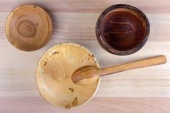 Ξύλινα εργαλεία Στοκ εικόνα με δικαίωμα ελεύθερης χρήσης