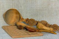 Ξύλινα εργαλεία Στοκ Φωτογραφία