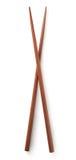 Ξύλινα κινεζικά ραβδιά Στοκ εικόνα με δικαίωμα ελεύθερης χρήσης