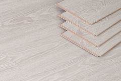 Ξύλινα κομμάτια παρκέ, πίνακας για το δάπεδο Στοκ Φωτογραφίες