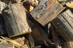Ξύλινα κομμάτια Στοκ εικόνες με δικαίωμα ελεύθερης χρήσης
