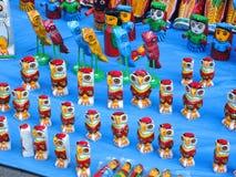 Ξύλινα παιχνίδια πουλιών Στοκ Εικόνες
