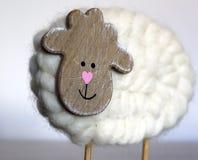 Ξύλινα πρόβατα Στοκ Φωτογραφίες