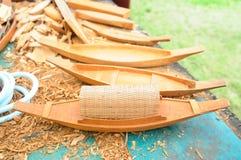Ξύλινα πρότυπα σκαφών Στοκ φωτογραφία με δικαίωμα ελεύθερης χρήσης