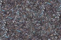 Ξύλινα τσιπ στο έδαφος Στοκ φωτογραφία με δικαίωμα ελεύθερης χρήσης