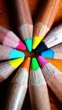 Ξύλινα χρώματα Στοκ εικόνες με δικαίωμα ελεύθερης χρήσης