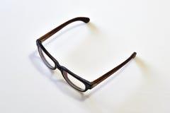 Ξύλινα Eyeglasses Στοκ εικόνα με δικαίωμα ελεύθερης χρήσης