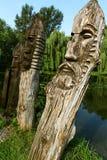 ξύλινες εικόνες Στοκ Εικόνες