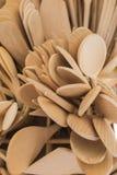 Ξύλινες κουτάλια και κουτάλες Στοκ Εικόνες