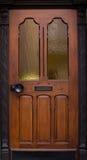 Ξύλινες παλαιές λεπτομέρειες πορτών του σπιτιού archtecture Στοκ Εικόνες