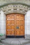 Ξύλινες πόρτες Στοκ εικόνα με δικαίωμα ελεύθερης χρήσης