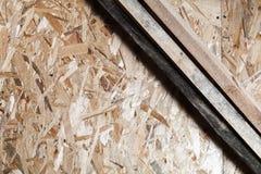Ξύλινες σανίδες και προσανατολισμένος πίνακας σκελών στοκ φωτογραφία