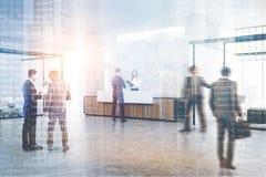 Ξύλινη αίθουσα υποδοχής και συνεδριάσεων, διπλάσιο Στοκ φωτογραφία με δικαίωμα ελεύθερης χρήσης