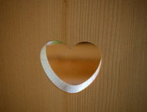 Ξύλινη αγάπη Στοκ Εικόνες