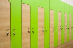 Ξύλινη αθλητική ντουλάπα Στοκ Εικόνες