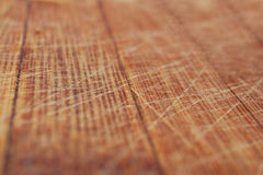 Ξύλινη ανασκόπηση Ξύλινη σύσταση Η κινηματογράφηση σε πρώτο πλάνο γρατσούνισε το ξύλινο kitch Στοκ Εικόνα