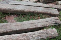 ξύλινη ανασκόπηση πατωμάτων Στοκ Εικόνα