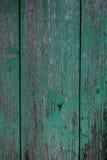Ξύλινη ανασκόπηση Shabby πίνακας πράσινη αποφλοίωση χρωμάτων Στοκ εικόνα με δικαίωμα ελεύθερης χρήσης