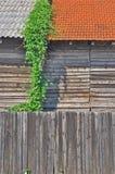 Ξύλινη αποθήκη εμπορευμάτων Στοκ Εικόνα