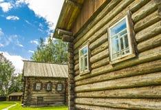 Ξύλινη αρχιτεκτονική, καλύβα Στοκ φωτογραφίες με δικαίωμα ελεύθερης χρήσης