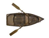 Ξύλινη βάρκα κουπιών Στοκ φωτογραφίες με δικαίωμα ελεύθερης χρήσης