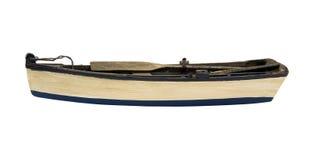 Ξύλινη βάρκα κουπιών Στοκ φωτογραφία με δικαίωμα ελεύθερης χρήσης