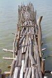 Ξύλινη γέφυρα στοκ φωτογραφία με δικαίωμα ελεύθερης χρήσης