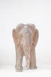 Ξύλινη γλυπτική ελεφάντων Στοκ φωτογραφία με δικαίωμα ελεύθερης χρήσης