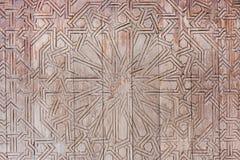 Ξύλινη γλυπτική πορτών Στοκ Εικόνες