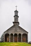 Ξύλινη εκκλησία, νησί Chiloe, Χιλή Στοκ Φωτογραφία