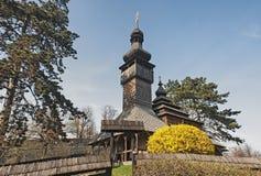 Ξύλινη εκκλησία του ST Michael ` s, Uzhhorod, Ουκρανία Στοκ εικόνες με δικαίωμα ελεύθερης χρήσης