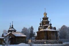 Ξύλινη εκκλησία Στοκ Εικόνα